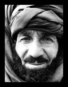 Afghan Portrait by Neville Bridgeford