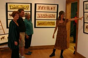Danish printmaking artist exchanges culture with Kimballton, IA