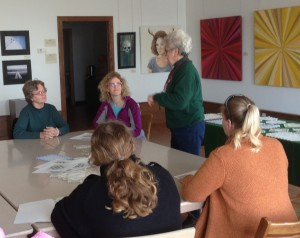 "interested participants learn the time-honored craft of ""Hardanger"""
