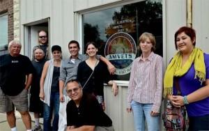UNO Veteran Artists visit Kimballton, IA October 8, 2011