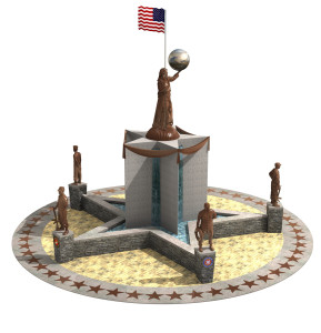 Living Liberty Central Monument