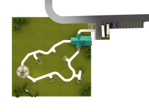 Site Plan from above