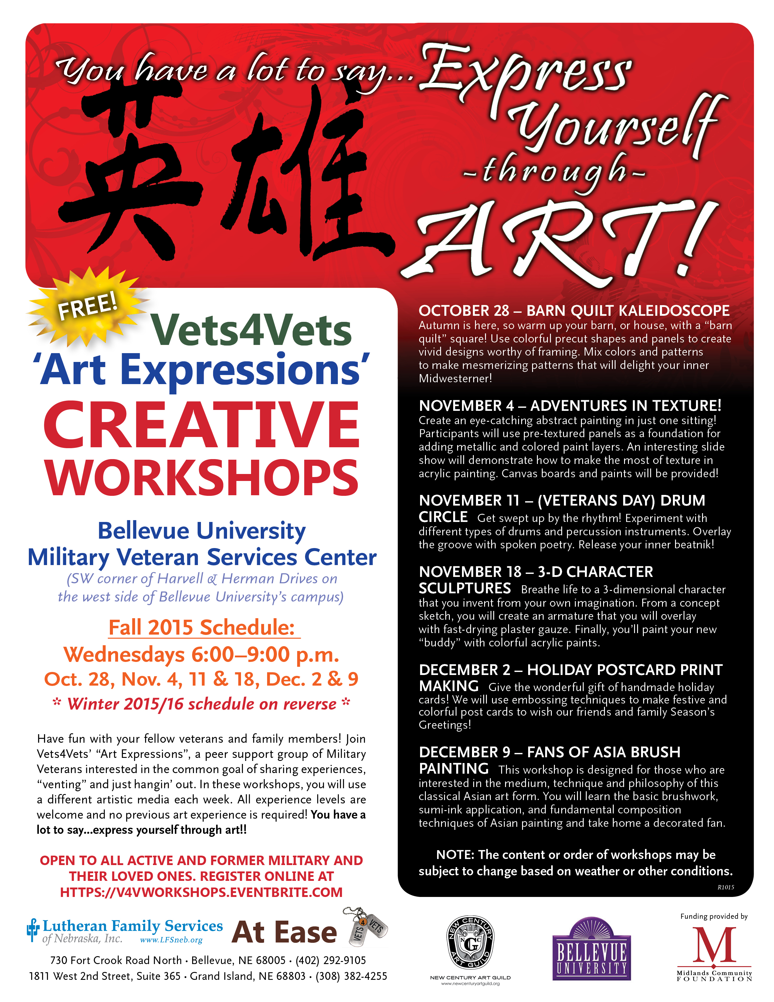 workshops and classes welcome to new century art guild