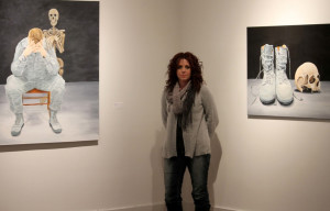 Artist Liz Boutin