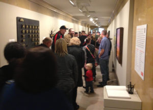 """ArtPost"" opens to a crowd of 450"